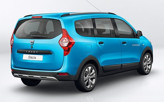 Vista lateral » 2016 Dacia Lodgy 5+2