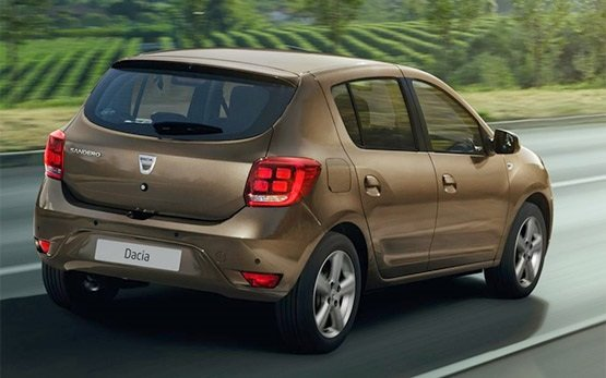 Side view » 2017 Dacia Sandero 1.5 dci
