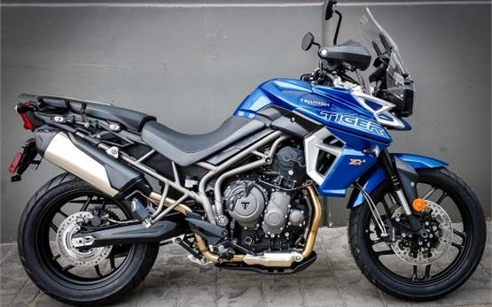 Triumph Tiger XRx 800 - alquiler de motos en Malaga