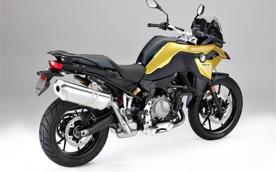 BMW F 750 GS - hire a motorcycle Athens