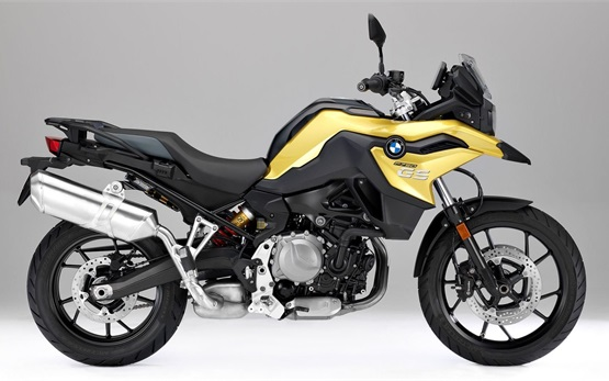 BMW F 750 GS - hire a motorcycle Milano