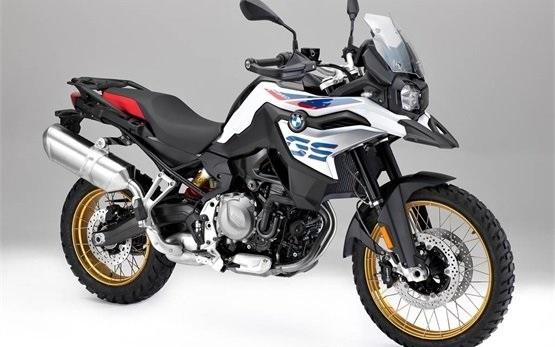 BMW F850 GS - Motorradvermietung Porto