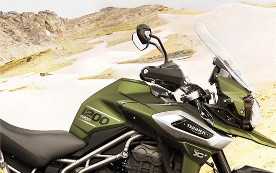 Triumph Tiger 1200 XCX - alquiler de motos en Malaga