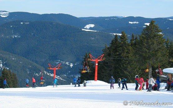 Ски-лифтовете в Пампорово