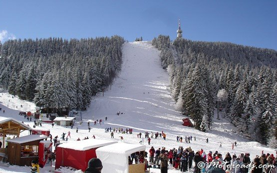 Ski Pistes in Pamporovo