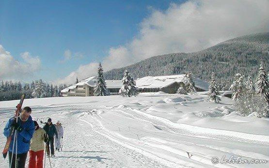 Лыжное трассе - Семково