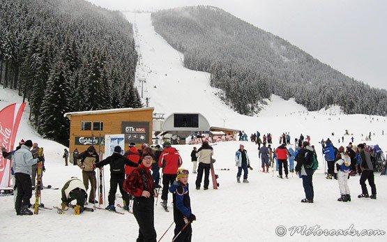 Лыжное трассе - Банско