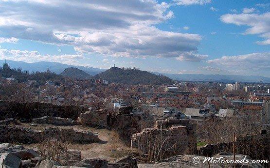 Изглед към Пловдив
