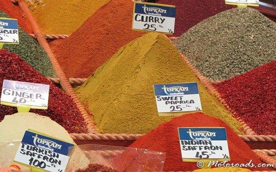 Пазара на подправките- квартал Султанахмет
