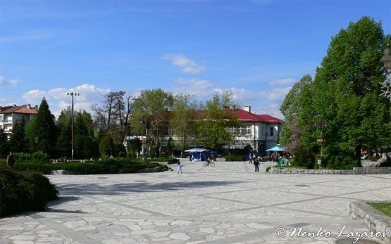 Площадь - Банско