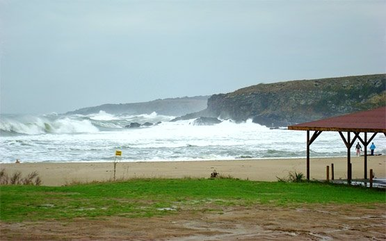Stormy Sea at Sinemorets