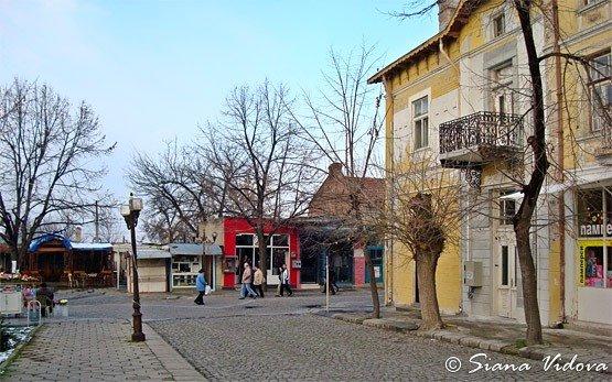 Street in Elhovo