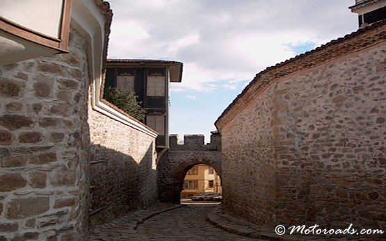 Street in Old Town of Plovdiv