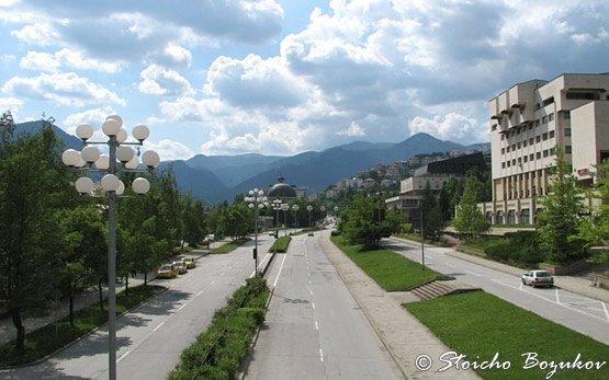 Street in Smolyan
