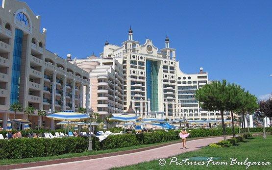Sunny Beach Resort in Summer