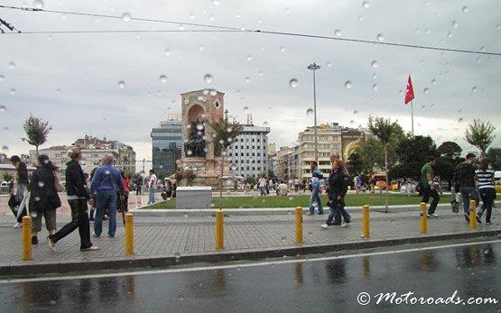 Площадь Таксим - Стамбул