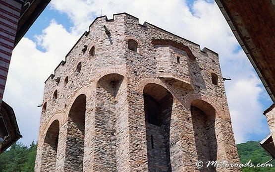 Tower in Rila Monastery