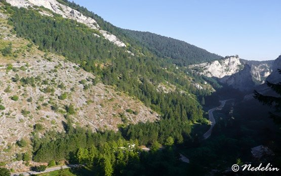 Trigrad Gorge, Trigrad Village