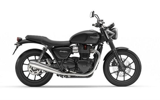 Triumph Bonneville Street Twin - аренда мотоцикла в Барселона