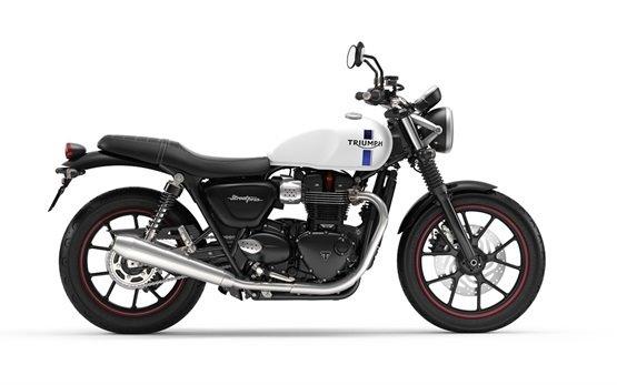 Triumph Bonneville Street Twin - мотоцикл напрокат - Барселона