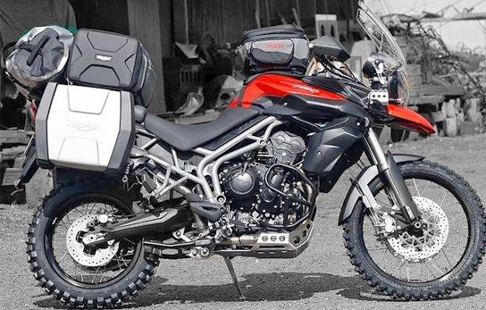 Triumph Tiger аренда мотоцикла
