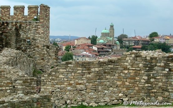 Крепость Царевец в Велико Тырново