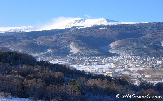 Vitosha Mountain in Winter