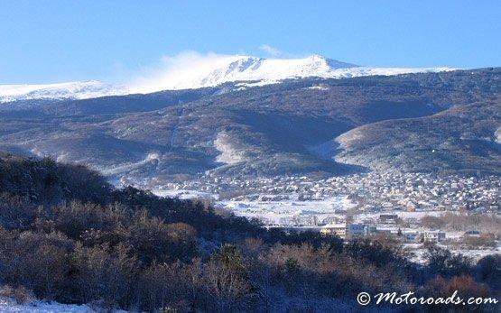 Горы Витоша - зимой
