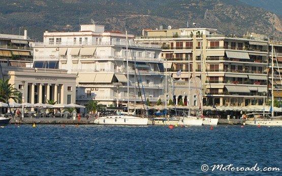 Волос порт Греция