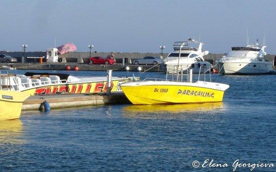 Yacht in St Vlas
