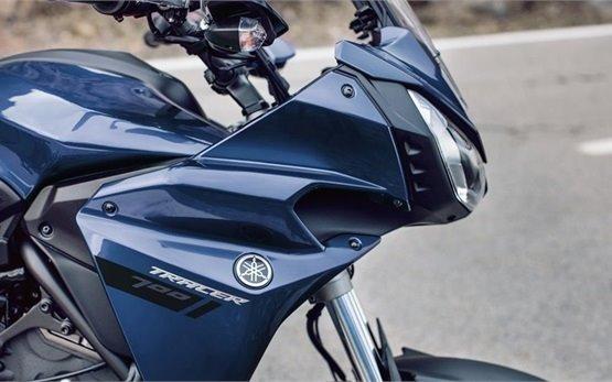 YAMAHA TRACER 700cc - motorcycle hire Barcelona Spain