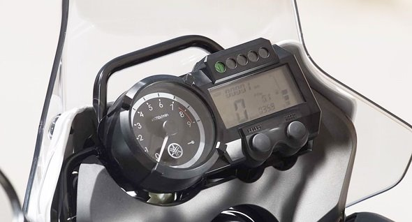Yamaha XT660Z Tenere - мотоцикл напрокат - Ираклион