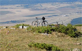 Biking in Balkan range