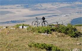 Езда на велосипеде в Балканском диапазоне
