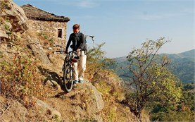 Biking in East Rhodope Mountains