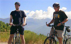 Biking in Rila mountains
