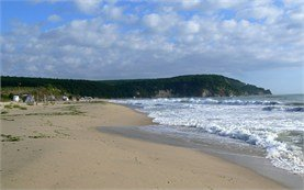 Black Sea beach near Byala