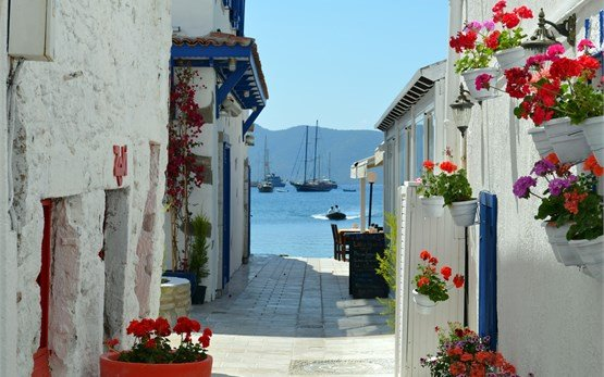 Bodrum streets