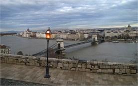 Будапеща на залез слънце