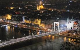 Будапеща - гледка от замъка Буда