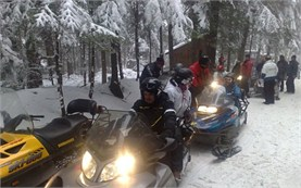 Bulgaria snowmobile adventure