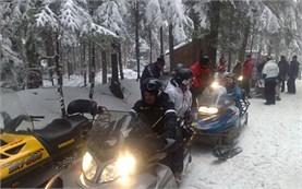 Bulgaria snowmobile adventure