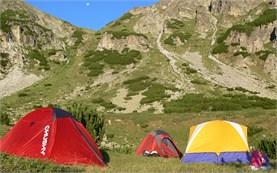 На палатки в Рила