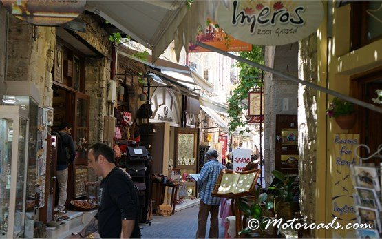 Old town of Chania Crete Greece