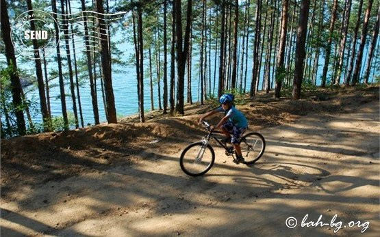 Children cycling in Bulgaria