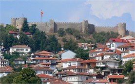 City of Ohrid, Macedonia