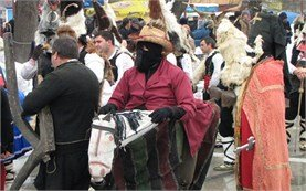 Costumes - Kukeri Festival in Pernik