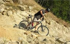 По стороне на велосипеде в Болгарии