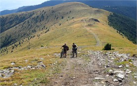 Езда на велосипеде в горах Стара планина