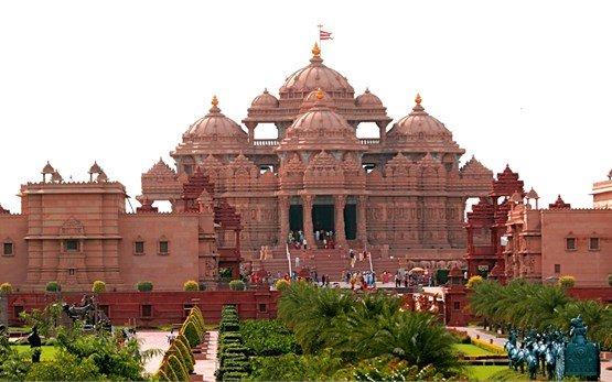 Дели - храм Акхшардам